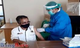 39 Jurnalis Melalui PWI KBB Sudah Selesai di Vaksin Covid-19