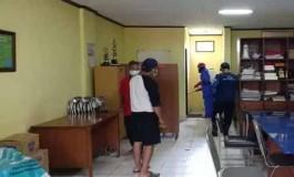 Cegah Corona, Kantor PWI Jabar Disemprot Disinfektan