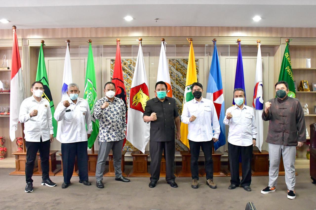 DPRD dan PWI Jabar Kuatkan Sinergi Perangi Hoaks