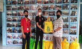 Forum BUMD dan Alfamart Peduli Wartawan di Bulan Ramadhan