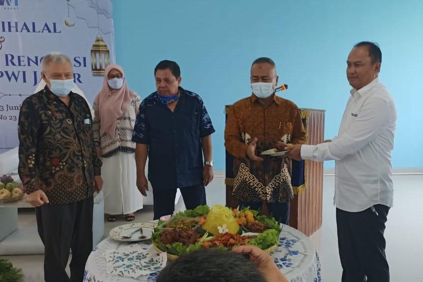 Halal Bihalal dan Syukuran Renovasi Gedung PWI Jabar
