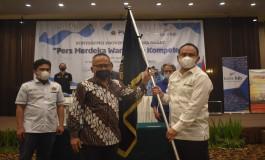 Hilman Hidayat Ketua PWI Jabar, Atal S Defari Bangga dengan Pelaksanaan Konferprov