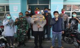 Kapolres Majalengka Berpesan Agar Wartawan Jaga Kesehatan