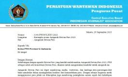 Kerangka acuan Anugerah Dewan Pers 2021
