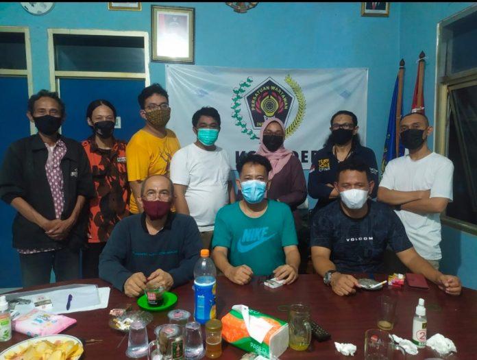 Ketua DPD LPM dan Ketua PP Silahturrahmi dan Berdiskusi dengan Pengurus PWI Depok