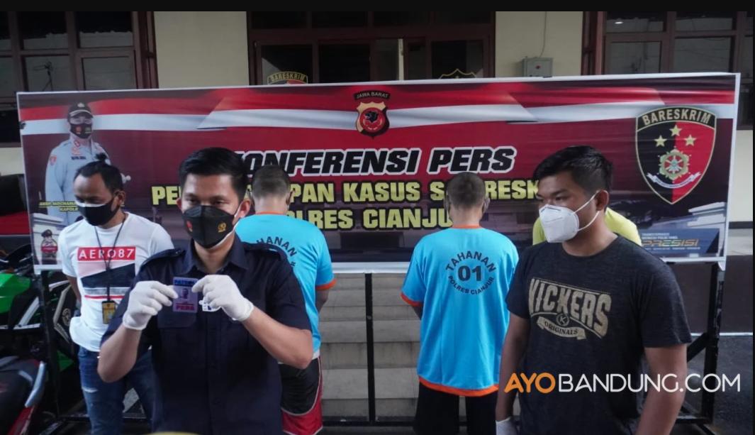 Oknum Wartawan Ngaku Polisi Ditangkap Satreskrim Polres Cianjur