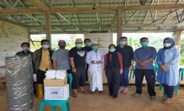 Peduli Sosial, Ini Dilakukan Ketua PWI Jabar di Naringgul Cianjur