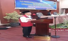 Pembukaan  UKW Angkatan II PWI Kabupaten Cianjur