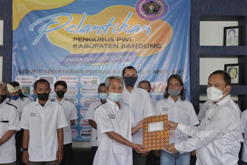 Pengurus Baru Sudah Dilantik, Seperti Ini Harapannya untuk PWI Kabupaten Bandung