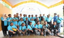 Peringati HPN, Polytama Ajak Wartawan Indramayu Hijaukan Negeri