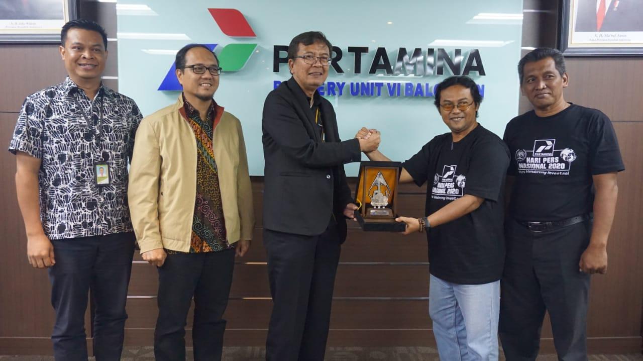 PT Pertamina RU VI Balongan Terima Kunjungan Puluhan Wartawan