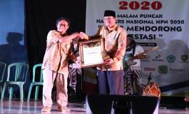 Puncak HPN 2020 PWI Indramau Meriah