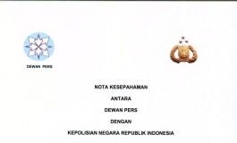 PWI Apresiasi Polda Aceh Sosialisasi MoU Polri - Dewan Pers