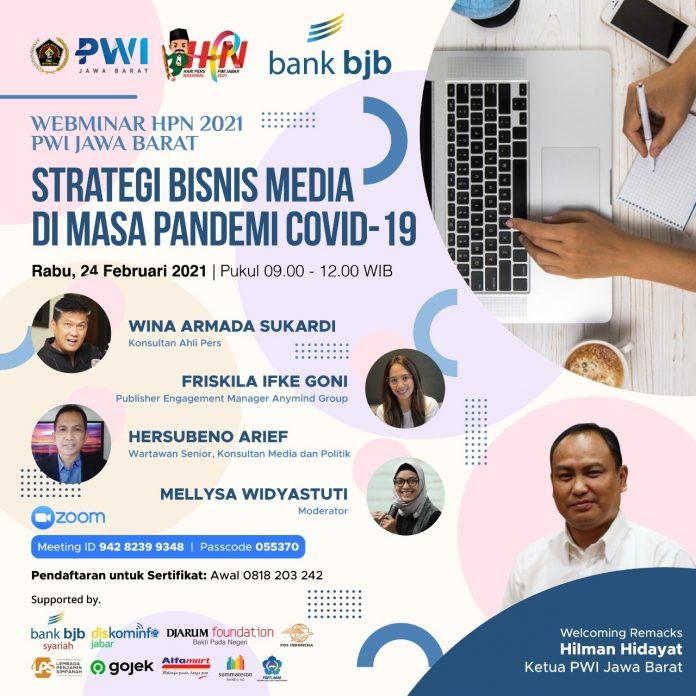 PWI Gelar Webinar, Bahas Strategi Bisnis Media di Masa Sulit akibat COVID-19