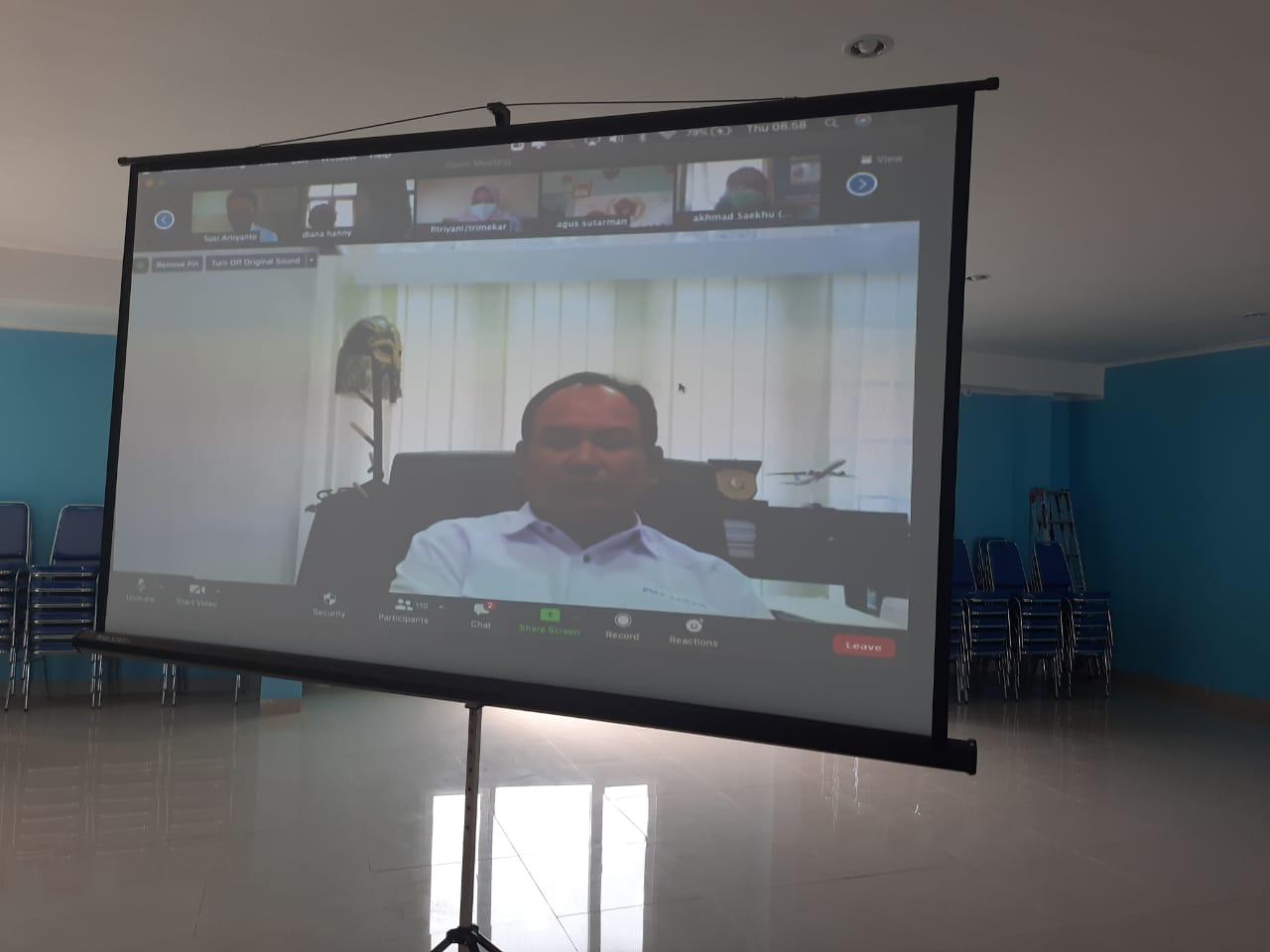 PWI Jabar Gelar OKK Virtual Pertama di Indonesia