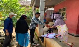 PWI Peduli Salurkan Bantuan Warga Terdampak Covid 19