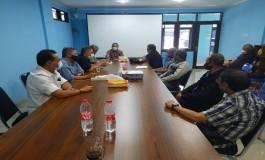 Rapat pengurus PWI Jabar, membahas HPN  2021