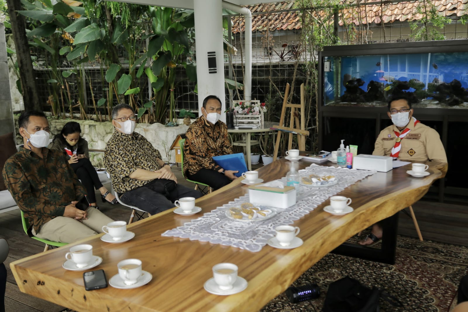 Ridwan Kamil Siap Bantu Percepatan Sertifikasi Wartawan