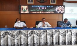 Secara Aklamasi Asep Solihin Terpilih Menjadi Ketua PWI Sukabumi