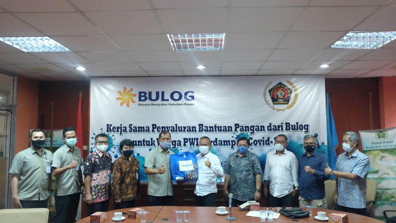 Sinergi Bulog dan PWI